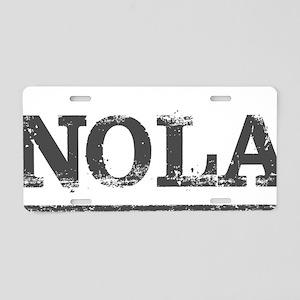NOLA New Orleans Vintage Aluminum License Plate