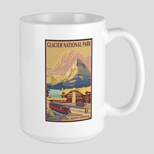 Glacier National Park, MT - Many Glacier Hotel Mug