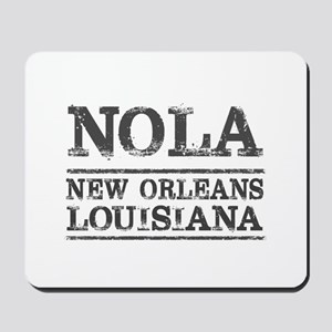 NOLA New Orleans Vintage Mousepad