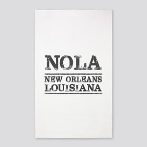 NOLA New Orleans Vintage Area Rug