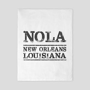 NOLA New Orleans Vintage Twin Duvet