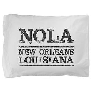 NOLA New Orleans Vintage Pillow Sham