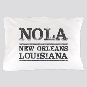 NOLA New Orleans Vintage Pillow Case