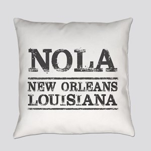 NOLA New Orleans Vintage Everyday Pillow