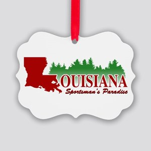 Louisiana Picture Ornament