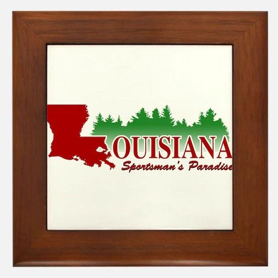 Louisiana Framed Tile