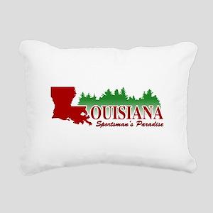 Louisiana Rectangular Canvas Pillow