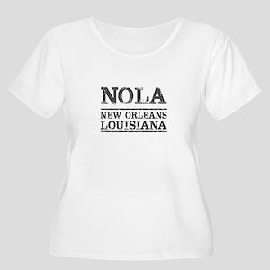NOLA New Orleans Vintage Plus Size T-Shirt