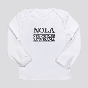 NOLA New Orleans Vintage Long Sleeve T-Shirt