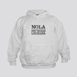 NOLA New Orleans Vintage Kids Hoodie