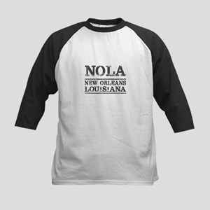 NOLA New Orleans Vintage Baseball Jersey