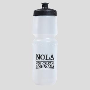 NOLA New Orleans Vintage Sports Bottle