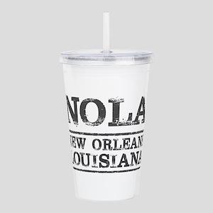 NOLA New Orleans Vinta Acrylic Double-wall Tumbler