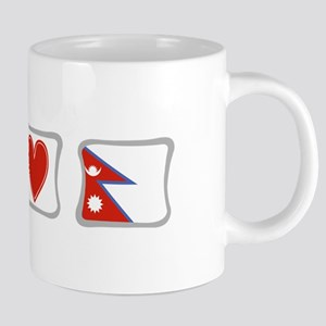 Peace, Love and Nepal Mugs