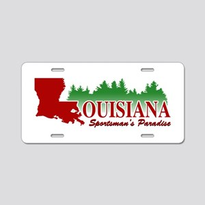 Louisiana Aluminum License Plate