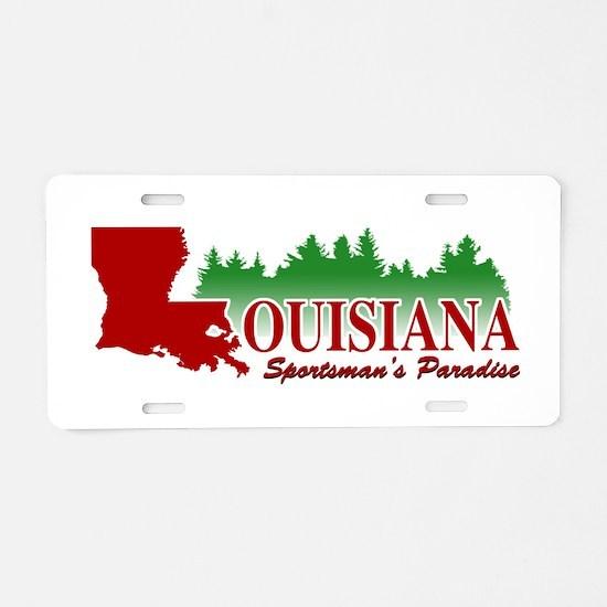 Louisiana Aluminum License Plate