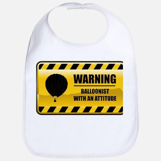 Warning Balloonist Bib