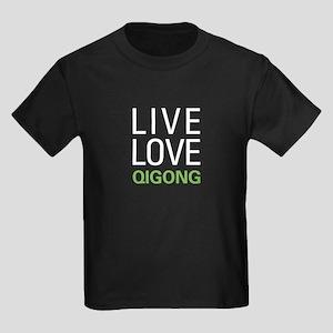 Live Love Qigong Kids Dark T-Shirt