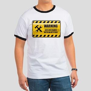 Warning Auto Mechanic Ringer T