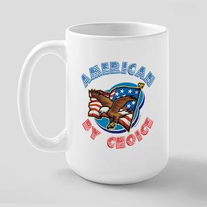 American By Choice Large Mug