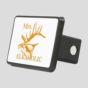 Mrs Elkaholic 2 Rectangular Hitch Cover