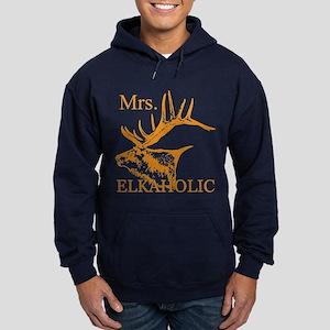 Mrs Elkaholic 2 Hoodie (dark)