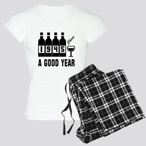 1945 A Good Year, Cheers Women's Light Pajamas