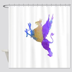 Griffin Shower Curtain
