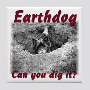 Earthdog Tile Coaster