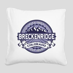 Breckenridge Blueberry Square Canvas Pillow