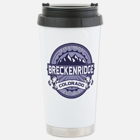 Breckenridge Blueberry Stainless Steel Travel Mug