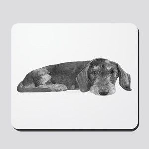 Wire Haired Dachshund Mousepad
