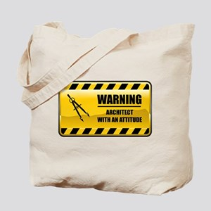 Warning Architect Tote Bag