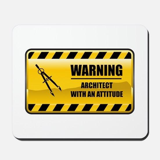 Warning Architect Mousepad