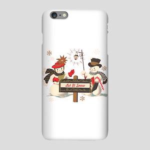 Let it snow snowma iPhone 6 Plus/6s Plus Slim Case