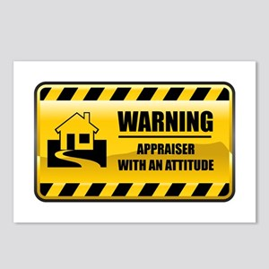 Warning Appraiser Postcards (Package of 8)
