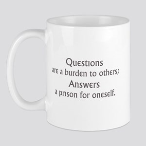 Questions Mug