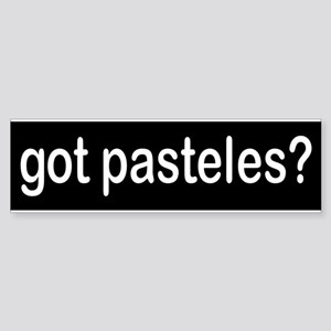 got pasteles? Bumper Sticker