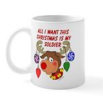 Christmas I want my Soldier Mug
