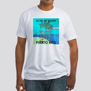 ISLA del ENCANTO Fitted T-Shirt
