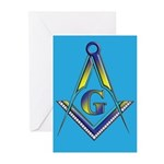 The Blue Lodge Greeting Cards (Pk of 10)