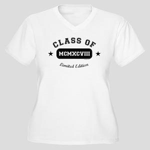 Class of 1998 Women's Plus Size V-Neck T-Shirt