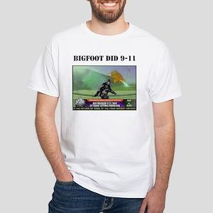 bigfoot at pentagon White T-Shirt