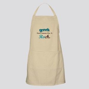 Greek Rocks BBQ Apron