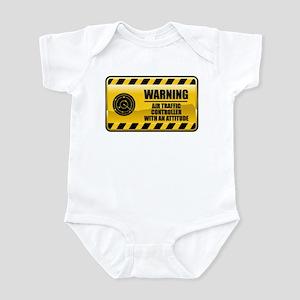 Warning Air Traffic Controller Infant Bodysuit