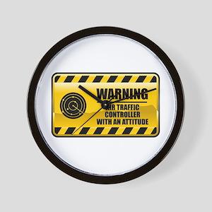 Warning Air Traffic Controller Wall Clock