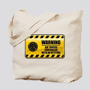 Warning Air Traffic Controller Tote Bag