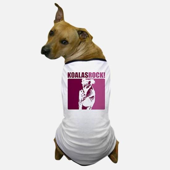 Koalas Rock Dog T-Shirt