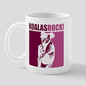Koalas Rock Mug