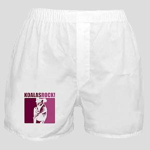 Koalas Rock Boxer Shorts
